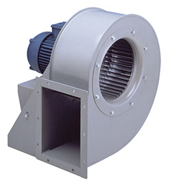 ventilateur centrifuge a action